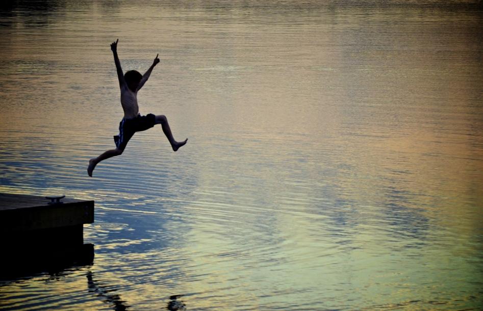 Texas-Lake-Swimming