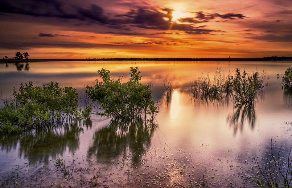 Lake-Texas-Sunset