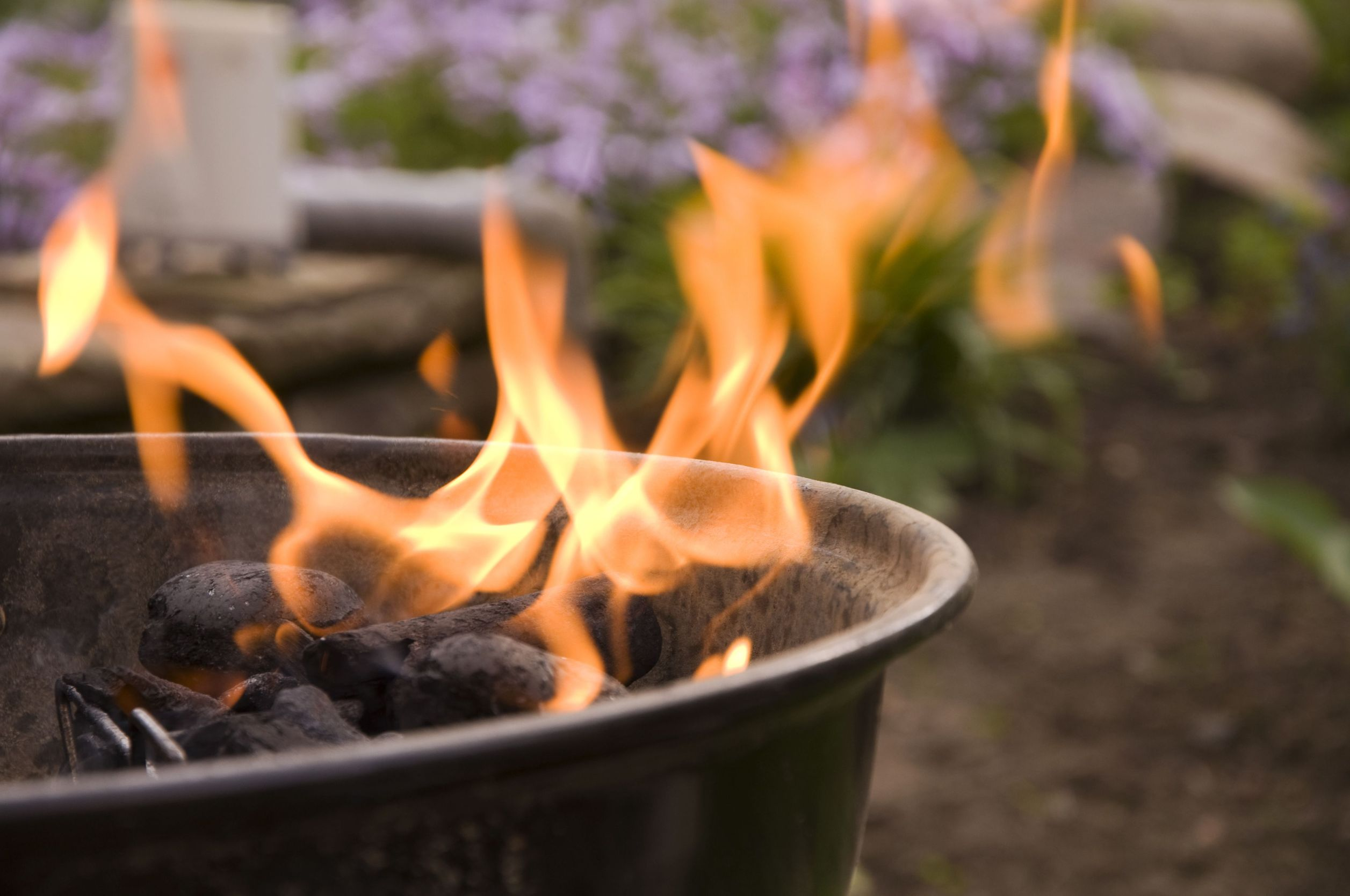 charcoal-grill-flame-nevada-usa
