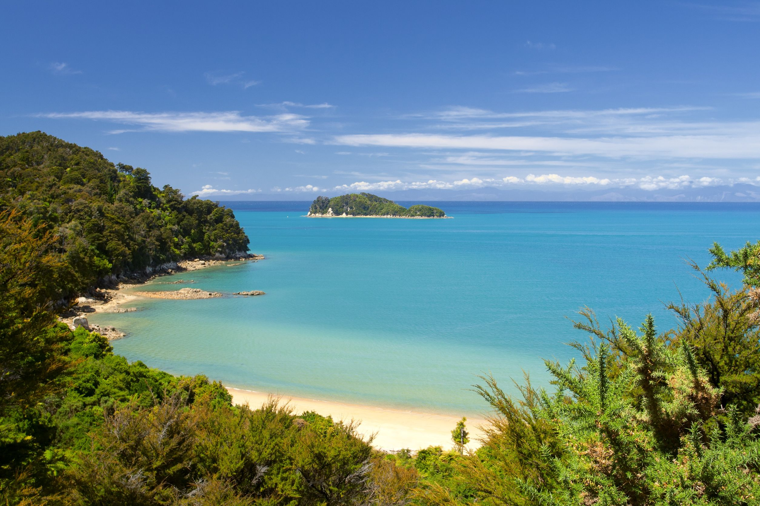 new zealand clearwater bay 123rf