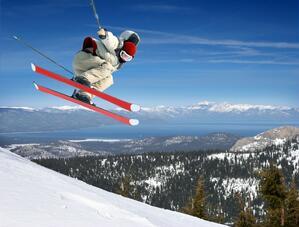 australia skii jumper 123rf