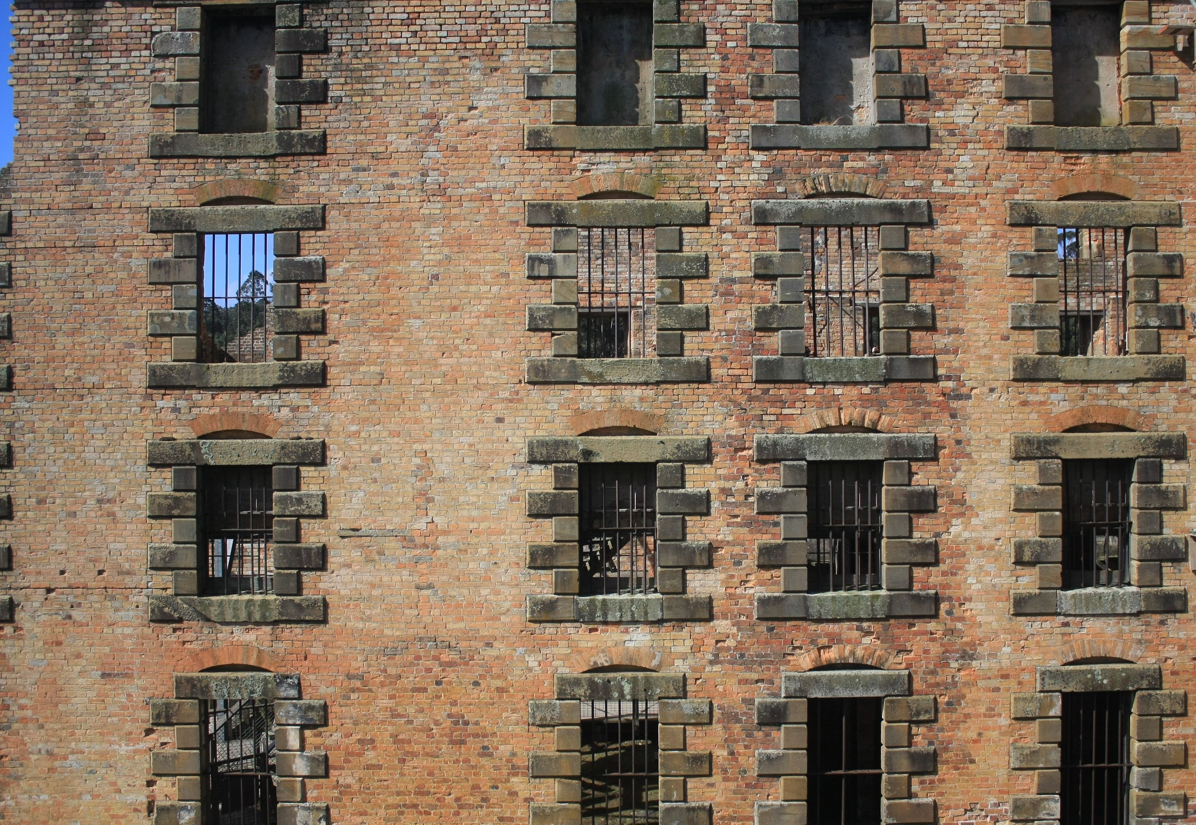 australia jail window 123rf