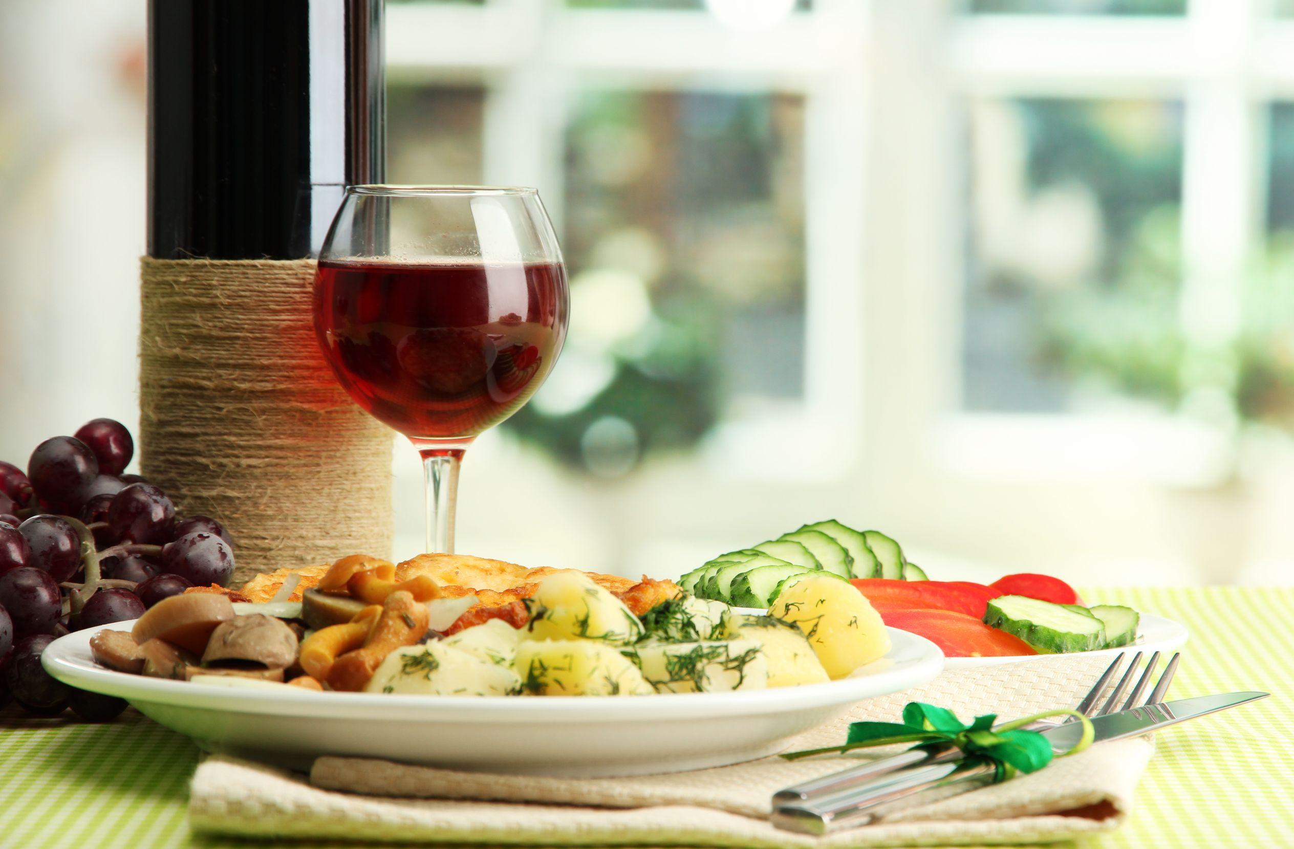 australia wine and food 123rf