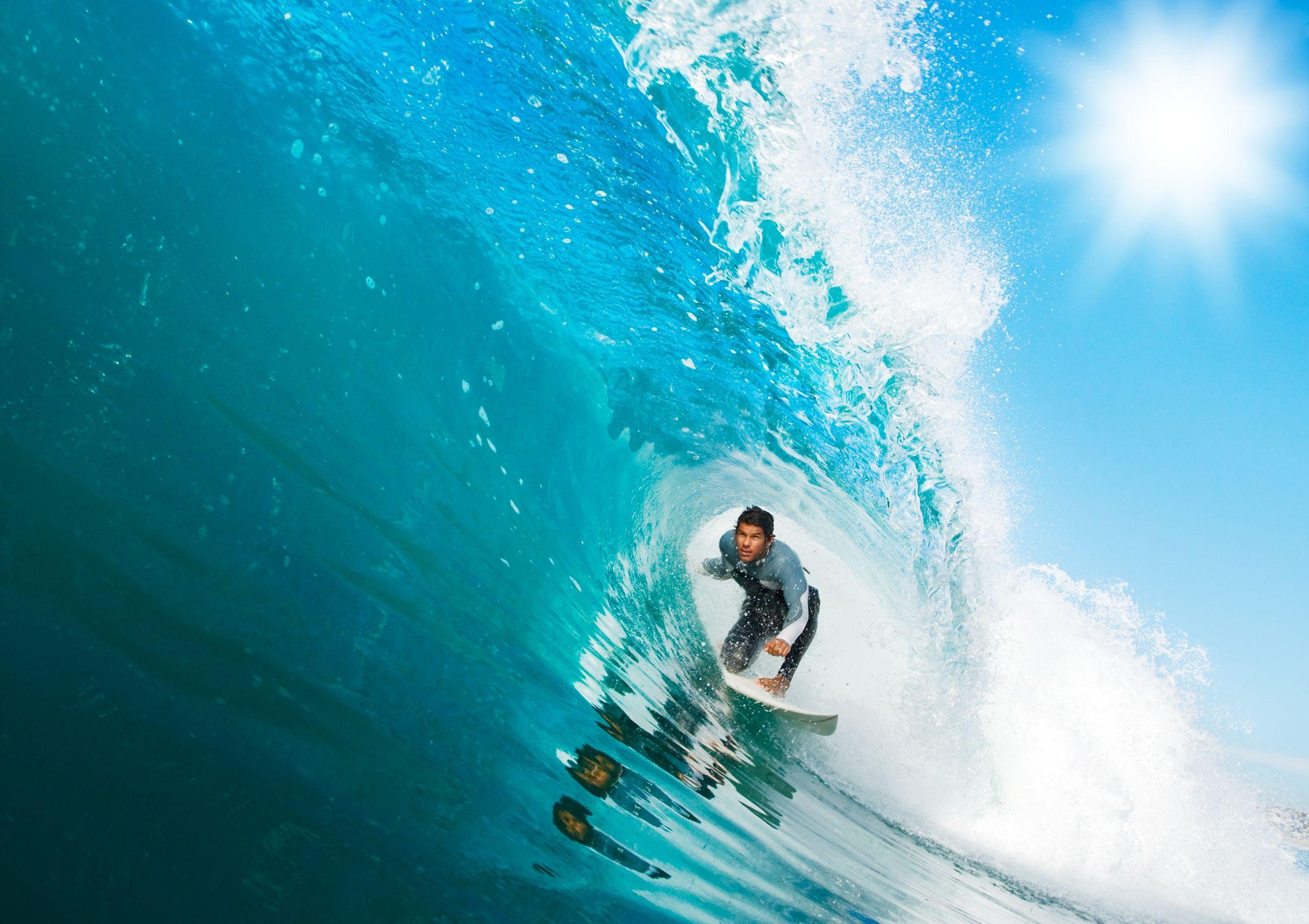 Surfs up at Tallabudgera