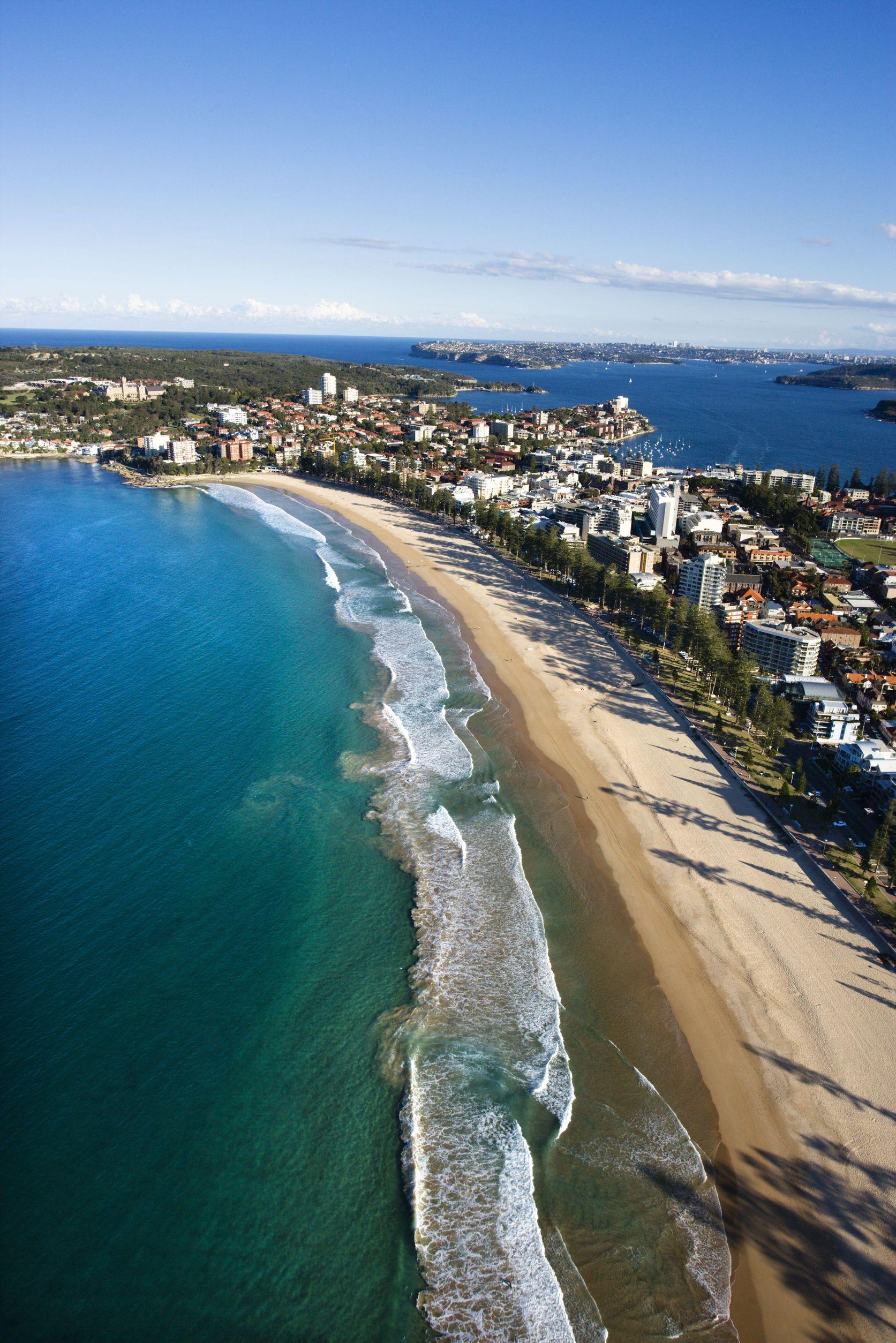 australia manly beach 123rf