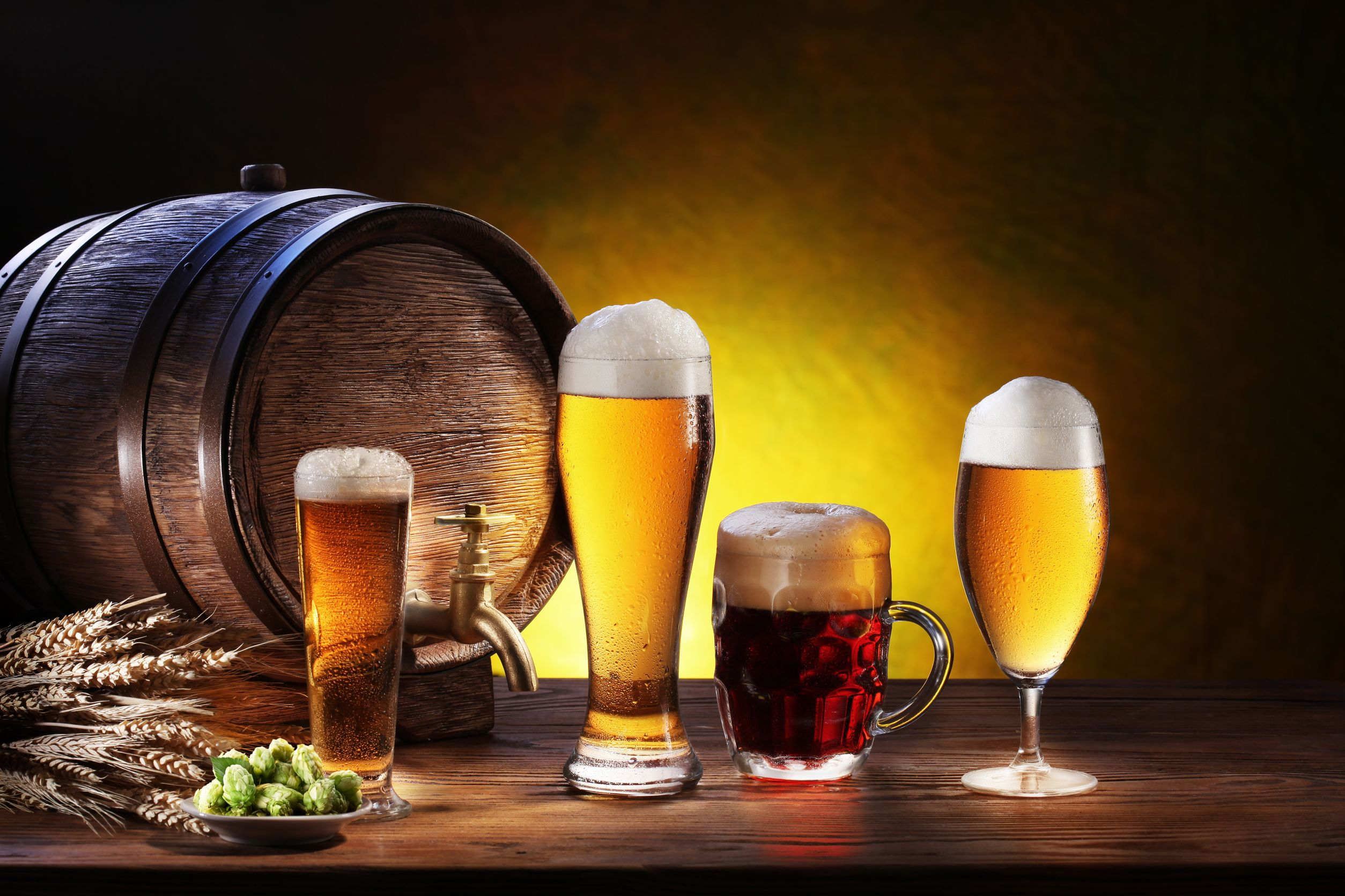 varous-beers-america