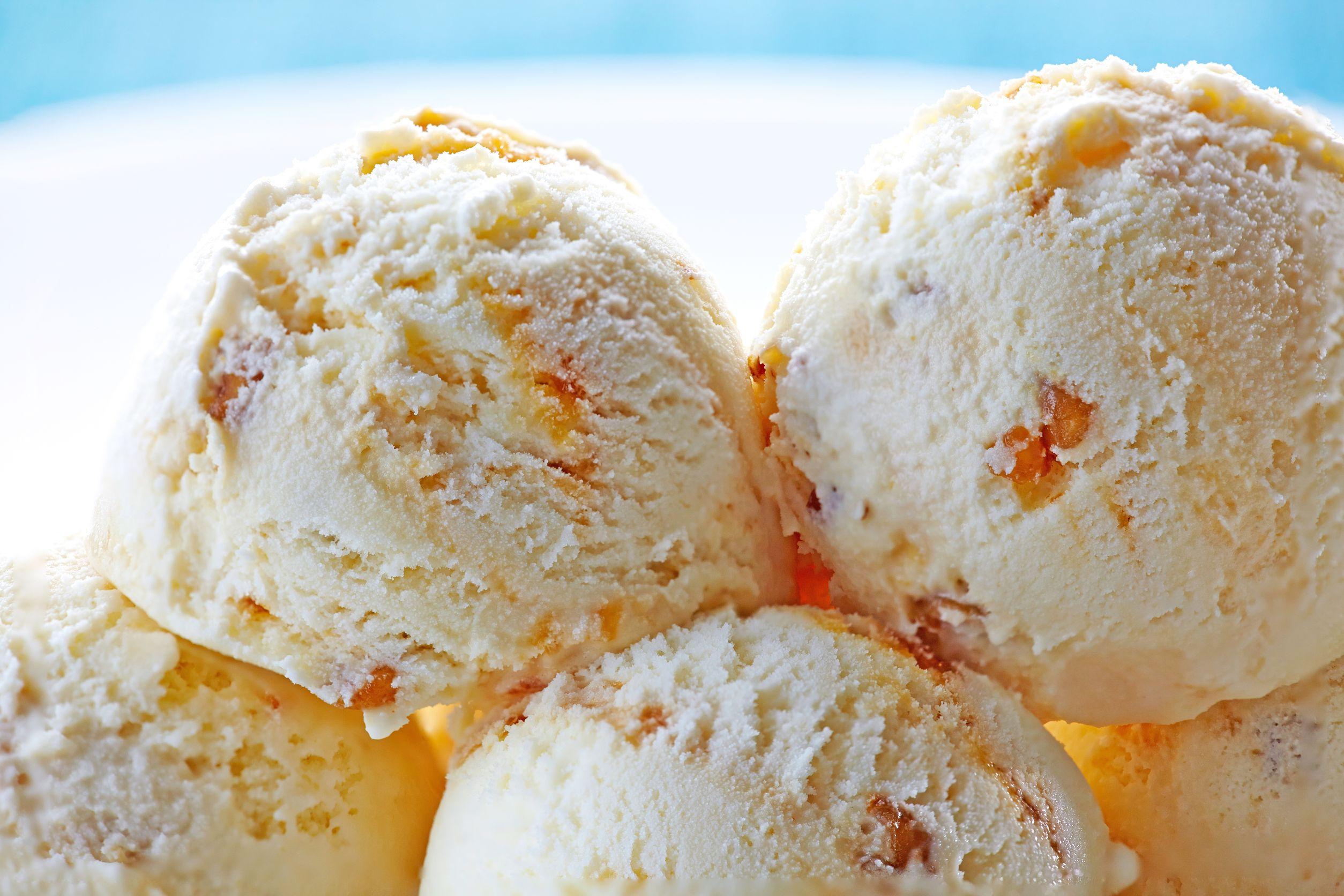 new zealand vanilla ice cream 123rf