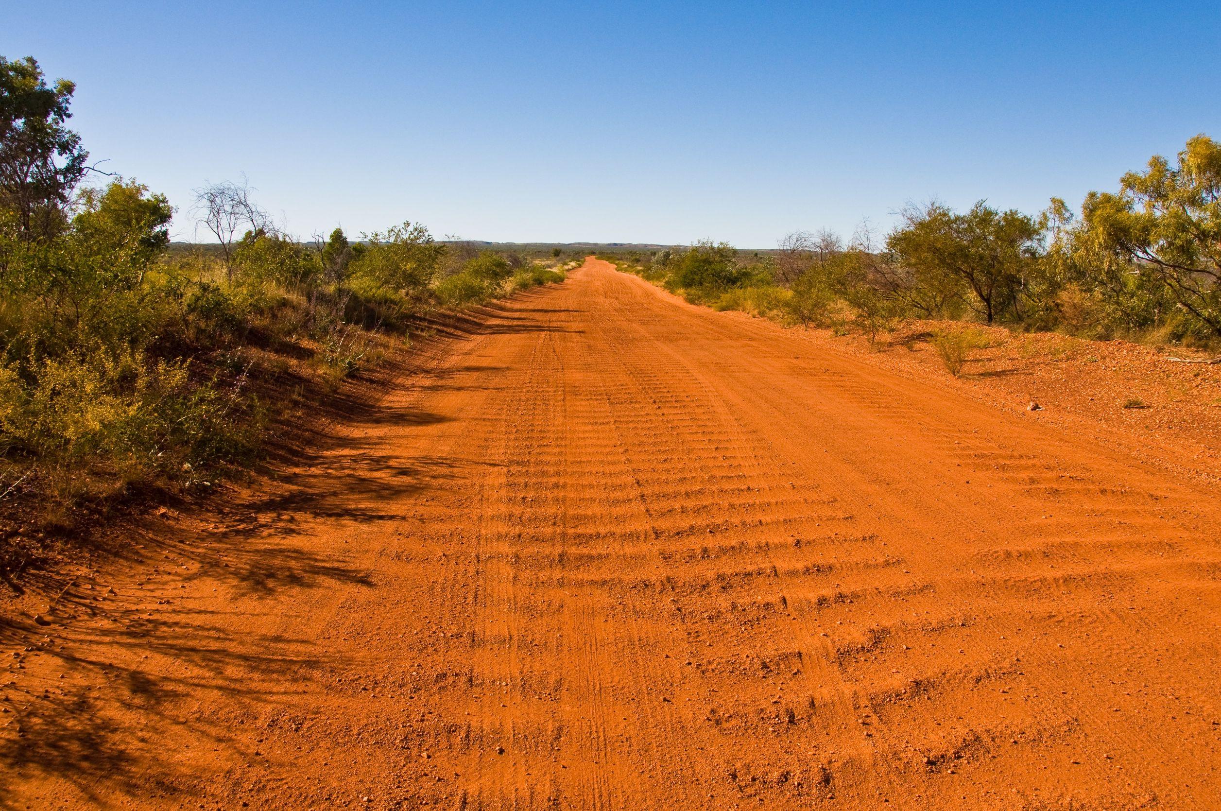 australia backroad outback 123rf