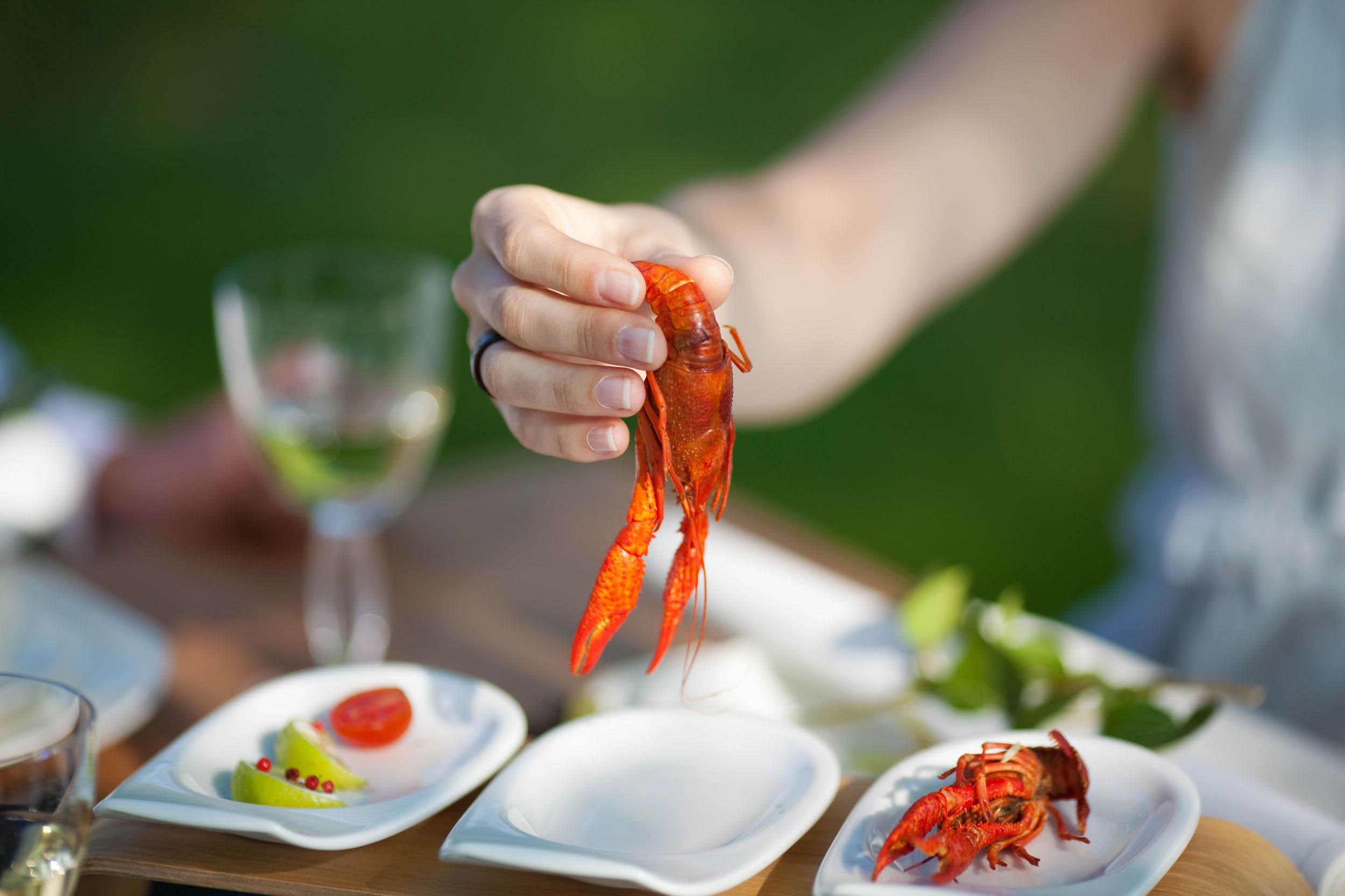 dining-on-crayfish