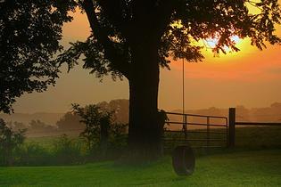 A summer evening in Missouri