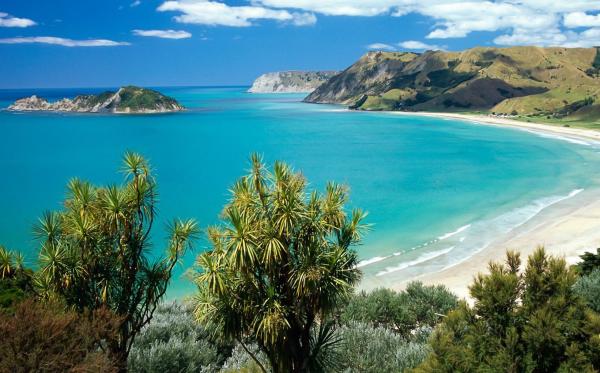 Anaura Beach on the North Island of NZ