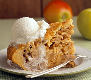 Homemade Gravenstein Apple Pie
