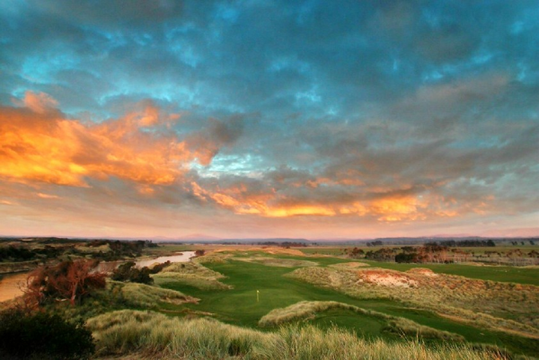 Beautiful Barnbougle Dunes in Tasmania, Australia