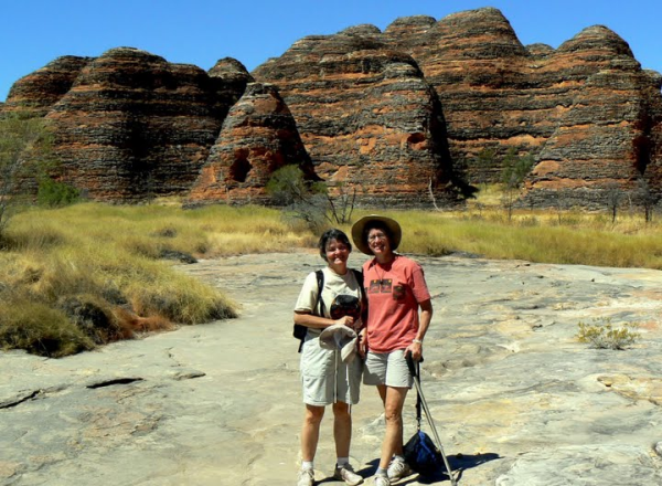 Kathy and Molly at the Bungles Bungles