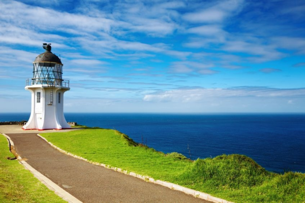 Cape Reinga at the tip of New Zealand's North Island