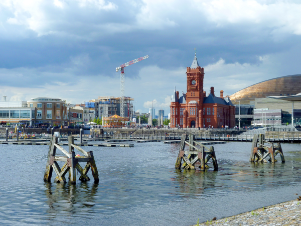 Cardiff in Wales