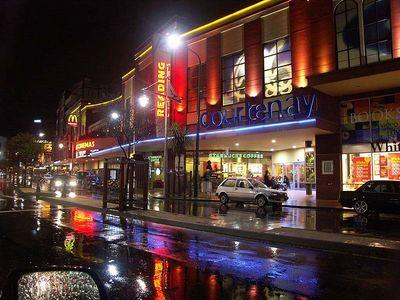 Courtenay Street in Wellington