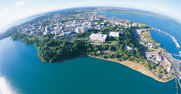 Darwin, the capital of Australia's Northern Territory