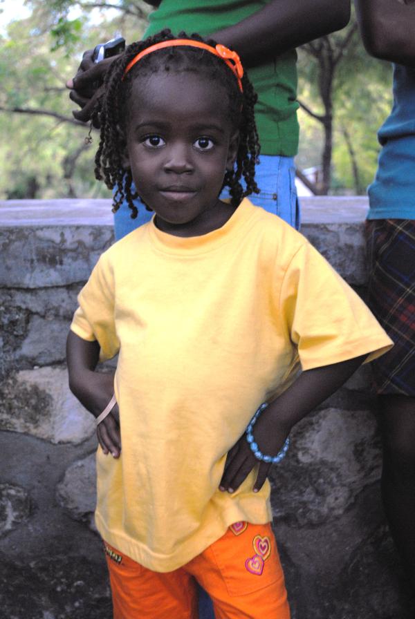 Dr. Hoffman Haitian Girl