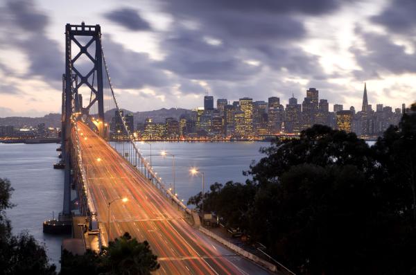 Twilight at the Golden Gate Bridge