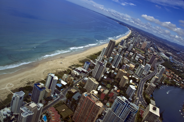 The Gold Coast of Australia