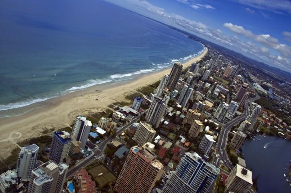 The Gold Coast of Australia
