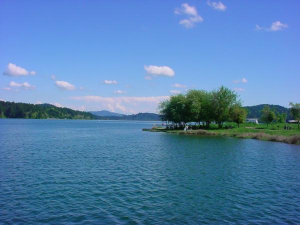Haag Lake, West of Portland in Oregon