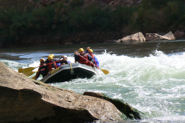 Rafting the Colorado