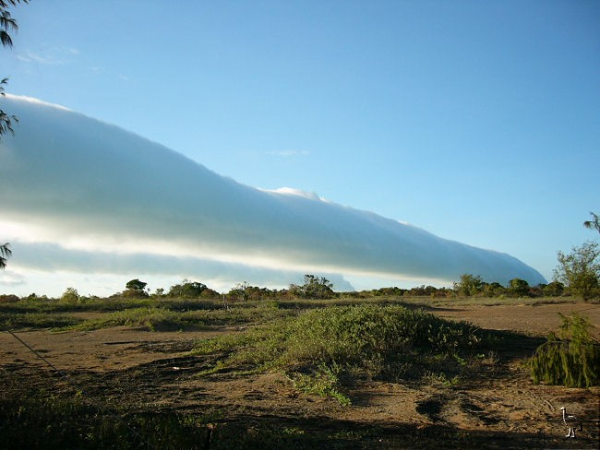 Morning Glory over Mornington Island