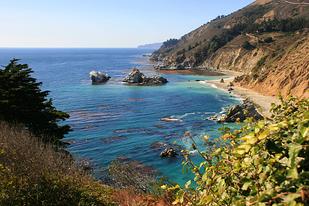 Monterey Coast in California