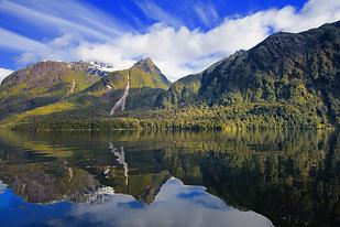 Lake Manipouri, New Zealand