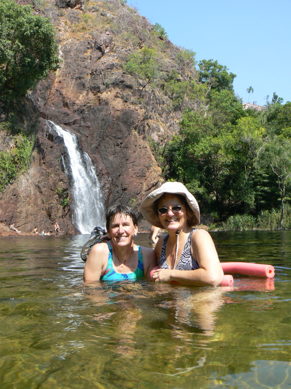 Molly and Kathy, Litchfield National Park