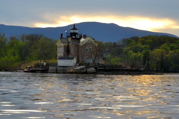 Saugerties Lighthouse on the Hudson