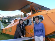 Starkey on locum in New Zealand