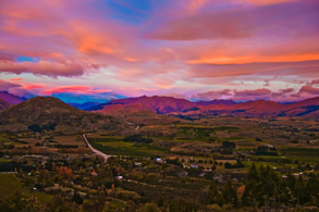 Sunrise near Arrowtown NZ, Easter Day