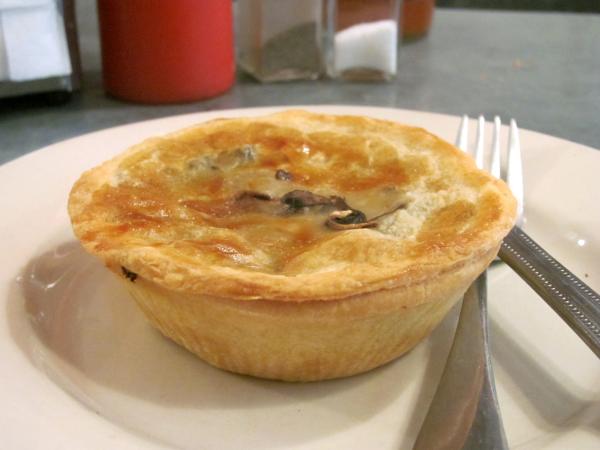 A tasty Tuck Shop meat pie