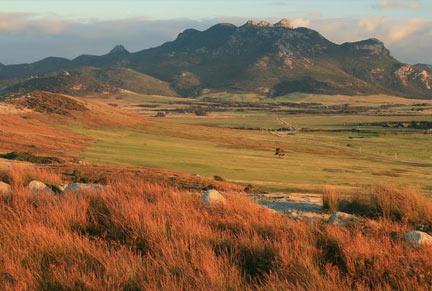 Mt Strzelecki in Tasmania