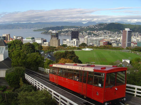 Wellington City's Famous Cable Car
