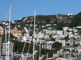 Wellington's Hillside with St. Gerard's Monastery
