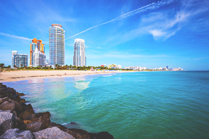 miami beach skyline thinkstock