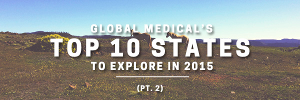 global medical top 10 states to explore part two