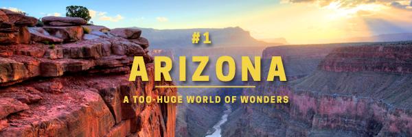 arizona - a too-huge world of wonders