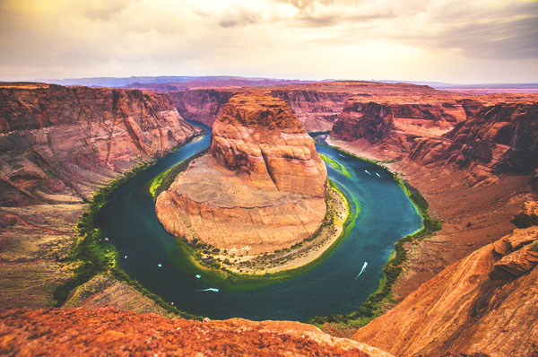 horseshoe bend arizona thinkstock