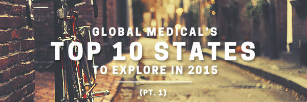 top 10 states to explore in 2015