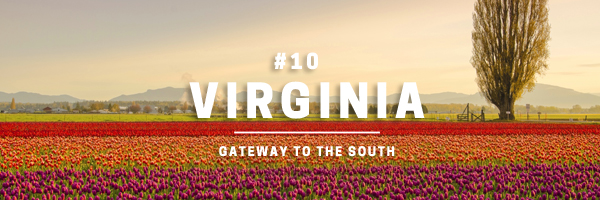 virginia - gateway to the south
