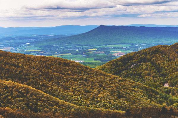 mountains in virginia