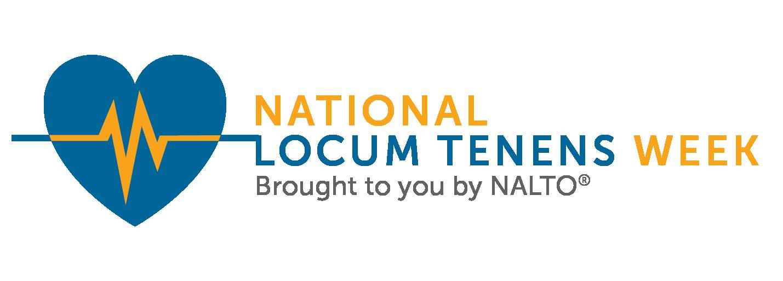 2018 National Locum Tenens Week logo horizontal